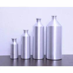 Aluminum Bottles Conical Traded Shape, Capacity: 100-1000 mL