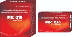 Softgel Capsules of Coenzyme Q10 Lycopene Methylcobalamin Multivitamin With Omega-3 Fatty Acids