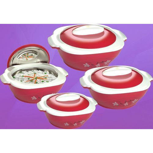 Plastic Trendy Hot Pot 4 Piece Set