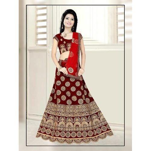 8c79f7795d5 Ladies Embroidered Party Wear Lehenga Choli