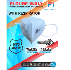 N95 mask with respirator
