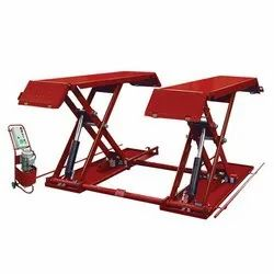 Underbody Inspection Scissor Lift