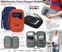 Multifunction Travel Passport Holder H-1523