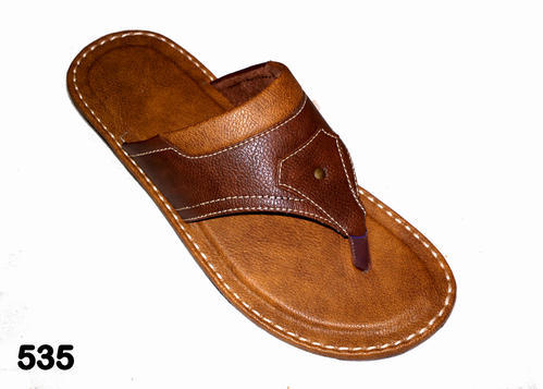 208653e49f2 Tan And Brown Men   s Flip Flop Slippers