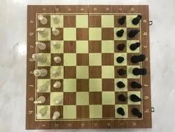 Toy Park Foldable Wooden Chess 40 x 40 cm