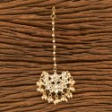 Copper Alloy Indo Western Chand Tikka With Gold Plating 100201