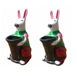 Rabbit Dustbin
