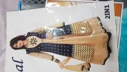 Western Party Ladies Gown, Age Group: 12-30, Size: Medium