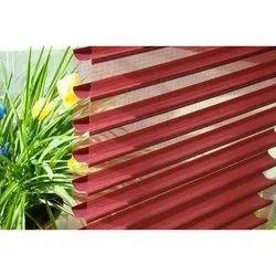 Polyester Fabric Horizontal Triple Window Blinds