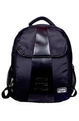 Polyester Black Computer Backpack
