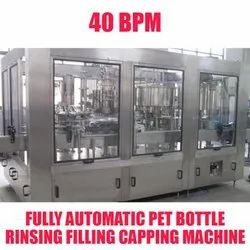 PET Bottle Rinsing Filling and Capping Machine