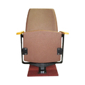Brown Royal Tip Up Auditorium Chair