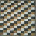 Teak Marble Black Mosaic Wall Cladding, 25-40mm