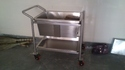Wash Dish Collection Trolley