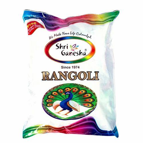 Rangoli 100 Gram Pouch ( 10 Mix Colors )