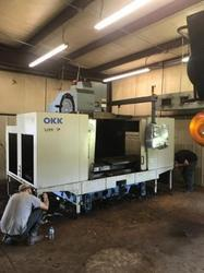 Used & Old Machine -okk Vm-7 Vertical Machine Center Available In Usa Warehouse