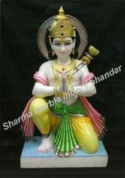 Jaipurcrafts Marble Rama Statue, for Temple and Home