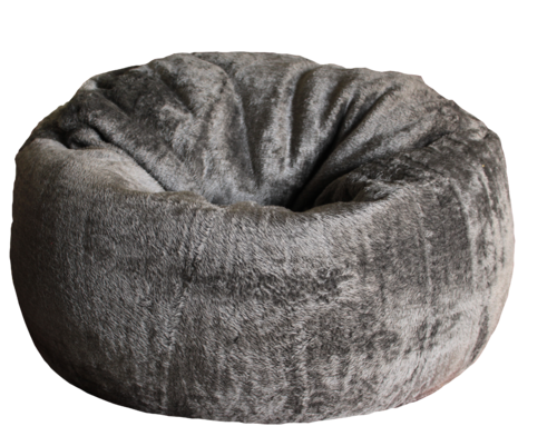 Excellent Xxxl Round Artificial Fur Bean Bag Without Beans Evergreenethics Interior Chair Design Evergreenethicsorg
