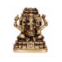 Panchmuki Ganesha Brass
