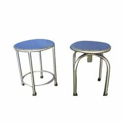Matte Finish Stainless Steel Ss patient Stool