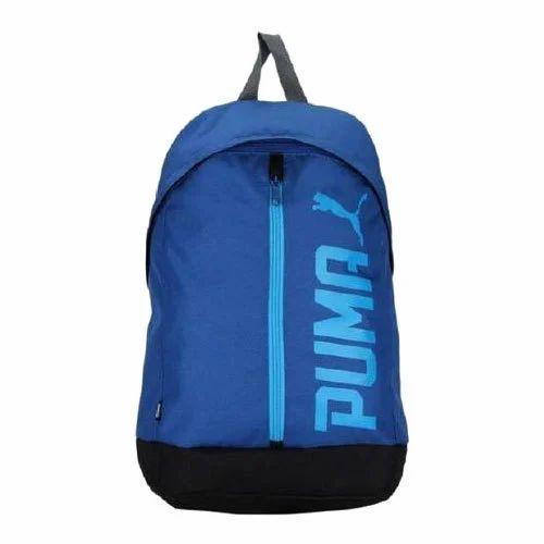 5eee49e1e5 Printed Puma Pioneer II Blue Laptop Backpack