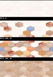 Glossy Series 511 (L, HL-A, HL-B) Hexa Ceramic Tiles