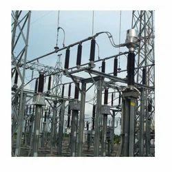 Single Phase Substation Structure