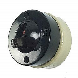 mhe 5 W and Below Bakelite Light Switch -2 Way with Ceramic Base (Standard Size, Black), Size/Dimension: 55MM