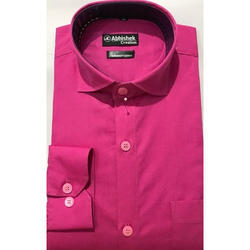 Plain Casual Wear Mens Shirt