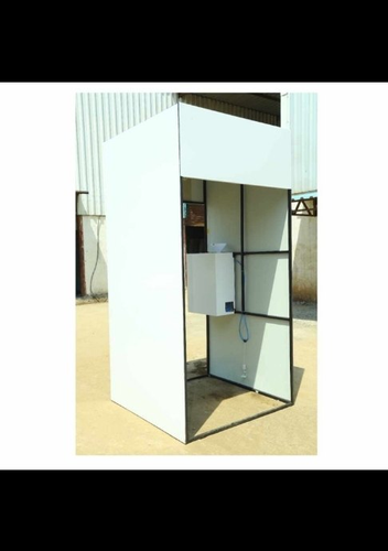 Sanitizer Booth