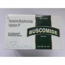 Buscomide Injection (Hyoscine Butylbromide Injection IP)