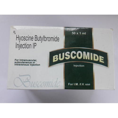 Buscomide Injection (Hyoscine Butylbromide Injection IP)