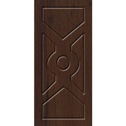 Interior Teak Wood Brown Wooden Membrane Door, For Home