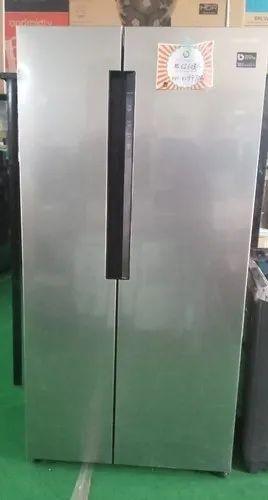 Gray Metal Samsung Refrigerator Rs62k6007s8 674 Rs 62603 Liter