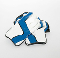 White and Sky Blue Cricket Wicket Keeping Glove