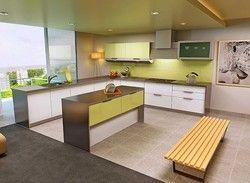 Acrylic Modular Kitchen Design Service