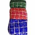 Casual Designer Gharchola Bandhani Silk Saree, 6.3 M (with Blouse Piece)