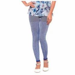 Straight Fit Plain Fitted Leggings Pants Seamless Jacquar ( Printed )Leggings