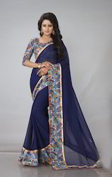 Casual Georgette Saree