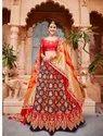 Pure Banarasi Silk Bridal Lehenga Choli