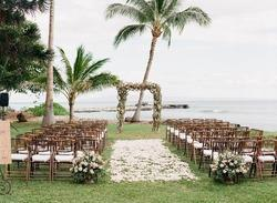 Wooden Bamboo Folding Wedding  Chair