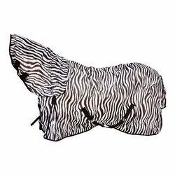 Zebra Print Fly Combo Rug