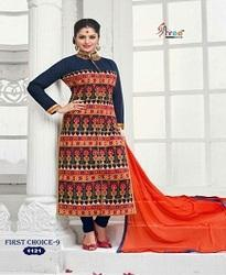 Your Choice Frist Choice Vol No-9 Embroidery Party Wear Salwar Kameez