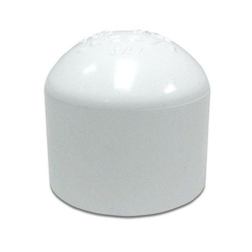 Asl White and Natural PVC Cap