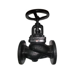 Toss globe Steam Stop Valve Flanged Ends IBR