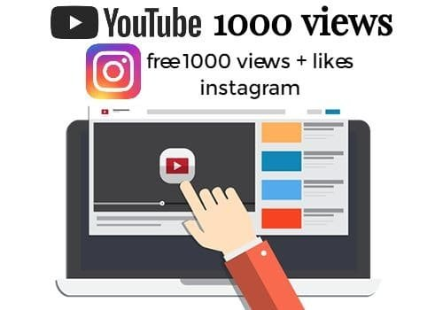 1000 Fast Youtube Promotional Views & Video Promotion