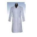 Men White Polyester Lab Coats