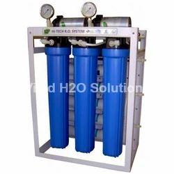 Springup FRP RO Plant, RO Capacity: 50-100lph, Automation Grade: Semi-Automatic