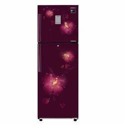 Rose Mallow Plum 4 Shelves Samsung Double Door Refrigerator, Top Freezer