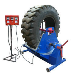 OTR JM 7600 Section Tyre Repair Machine